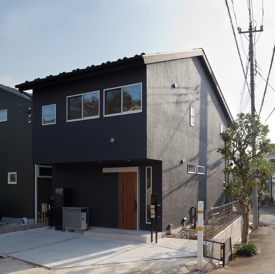 杉並・世田谷で建築家と家づくりデザイン住宅 暮らしやすい工夫のある間取り 小屋裏収納のある家 調布市S様邸